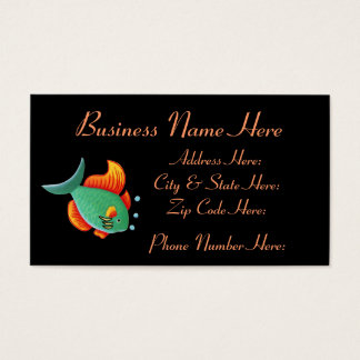 Fish Business Card Sample1