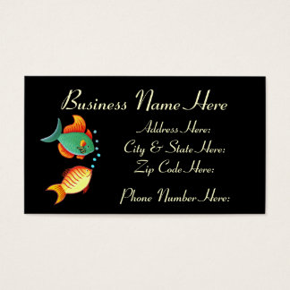 Fish Business Card Sample2