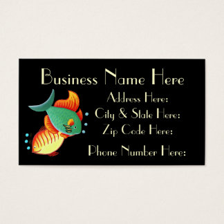 Fish Business Card Sample3