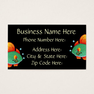 Fish Business Card Sample4