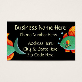 Fish Business Card Sample5