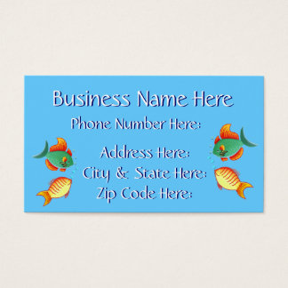 Fish Business Card Sample6