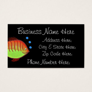 Fish Business Card Sample7