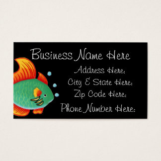 Fish Business Card Sample8