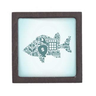 Fish business gift box
