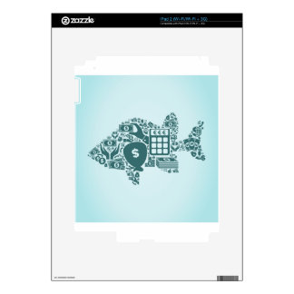 Fish business skins for iPad 2