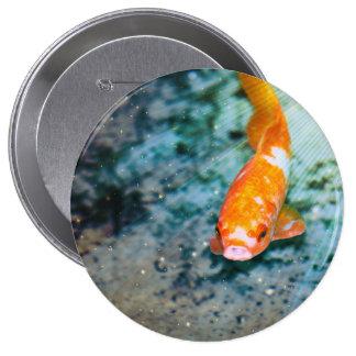 Fish 4 Inch Round Button