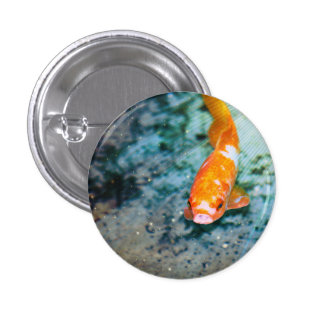 Fish 1 Inch Round Button