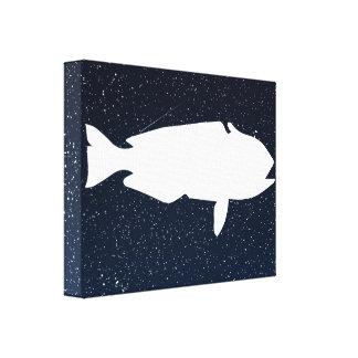 Fish Buyers Minimal Canvas Print