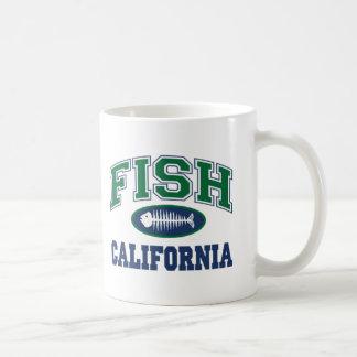 Fish California Coffee Mug