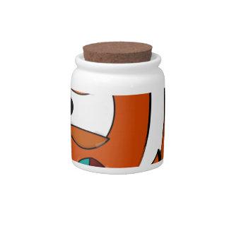 fish candy jars