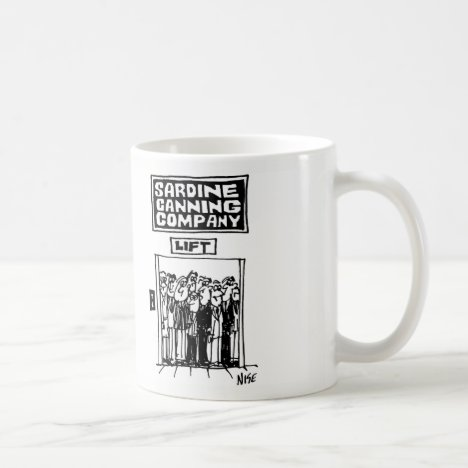Fish Canning Company Lift Coffee Mug