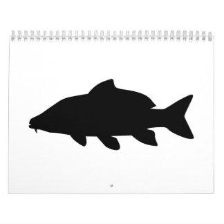 Fish Carp Calendar