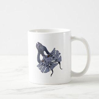 Fish Cat Tail Design Coffee Mug