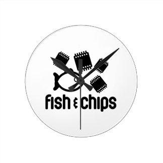 Fish Chips Clocks