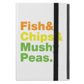 Fish & Chips & Mushy Peas. iPad Mini Cover