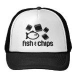 Fish & Chips Trucker Hats