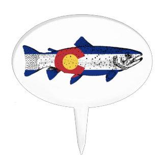 Fish Colorado Cake Topper