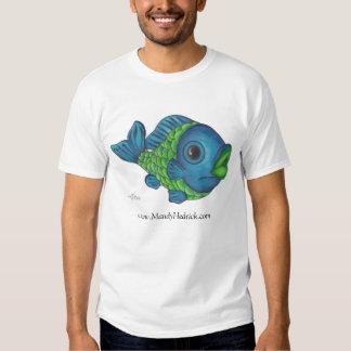 Fish colorpencil, www.MandyHedrick.com T-Shirt
