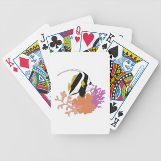 Fish & Coral Bicycle Playing Cards