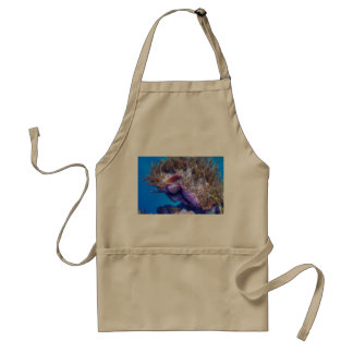 Fish Coral House Adult Apron