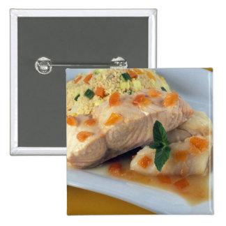 Fish couscous and taboulé For use in USA Button