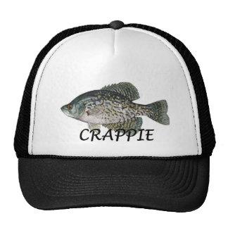 fish crappie mesh hat