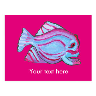 Fish Creature Postcard
