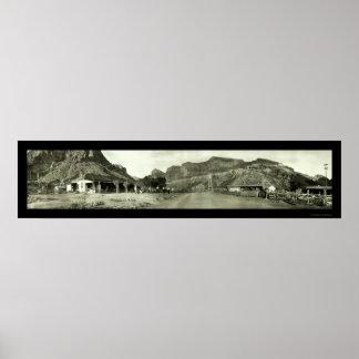 Fish Creek Arizona Photo 1909 Poster