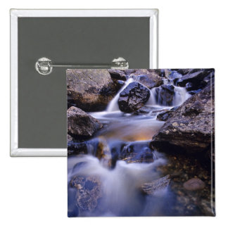 Fish Creek Falls near Steamboat Springs Colorado Pinback Button