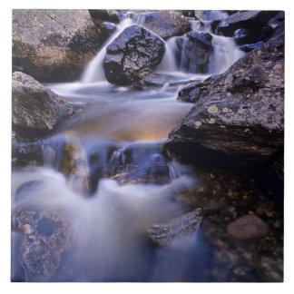 Fish Creek Falls near Steamboat Springs Colorado Ceramic Tile