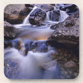 Fish Creek Falls near Steamboat Springs Colorado Drink Coaster