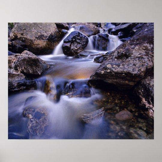 Fish Creek Falls near Steamboat Springs Colorado Poster