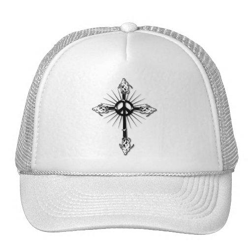 Fish-Cross-Peace Hats