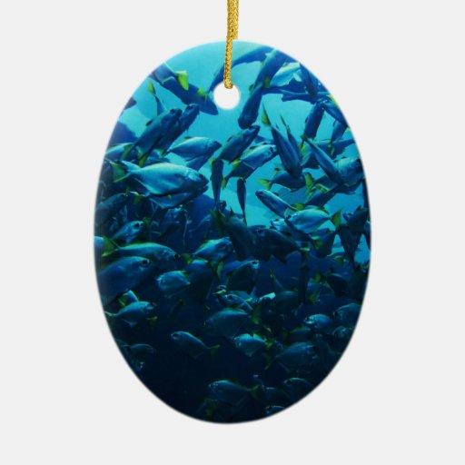 Fish Crowd Ornament