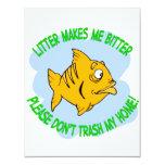 fish custom invitation