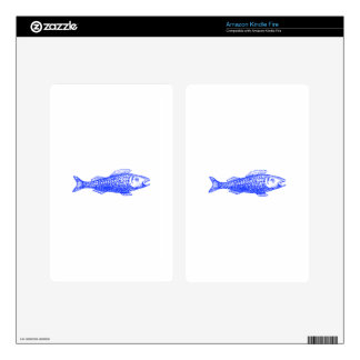 Fish Decal For Kindle Fire