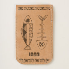 Fish decor iPhone 7 and iPhone 6/6s Phone Pouch