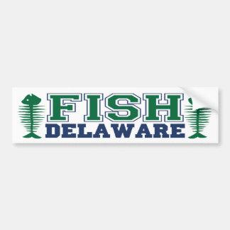 Fish Delaware Bumper Sticker