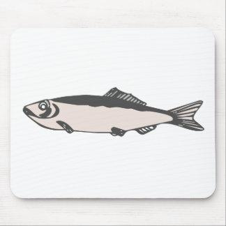 fish design mouse pad