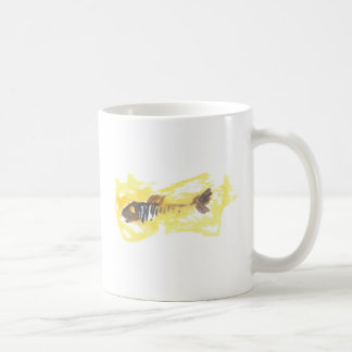 Fish Design - Red Theme Coffee Mug