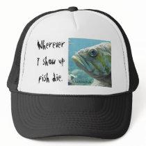 Fish Die Trucker Hat