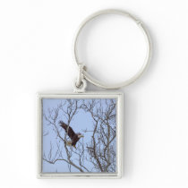 Fish Dinner Delivery Painterly Keychain