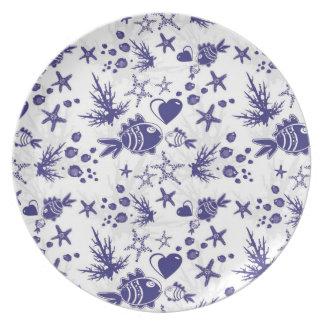 Fish Dinner Plate