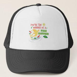Fish Dinner Trucker Hat