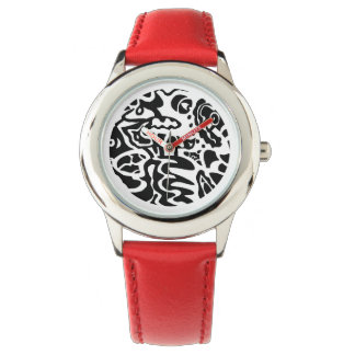 """""""Fish Disk"""" Abstract Wrist Watch"""