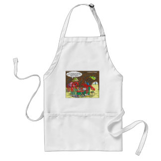 Fish Divorce Funny Cartoon Gifts Tees Collectibles Adult Apron