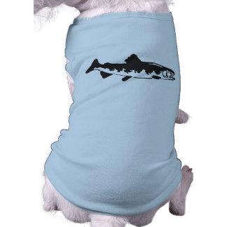 fish dog tee