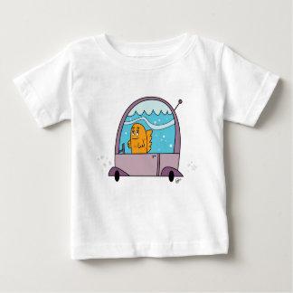 Fish Driving a Car - Toddler's T-Shirt