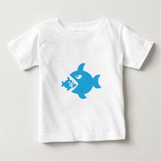 fish eat fish baby T-Shirt